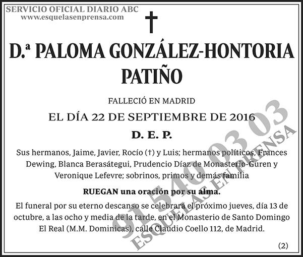Paloma González-Hontoria Patiño